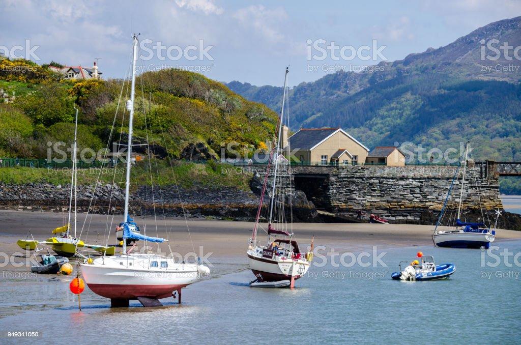 Barmouth Seaside stock photo