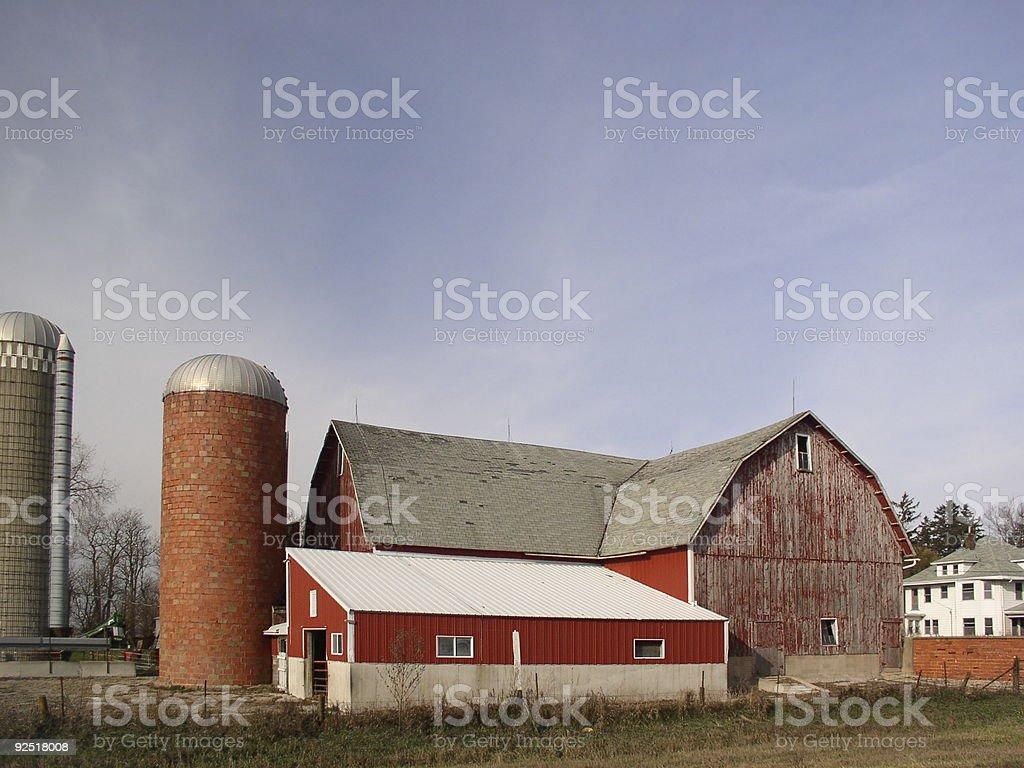 Barn - Americana royalty-free stock photo