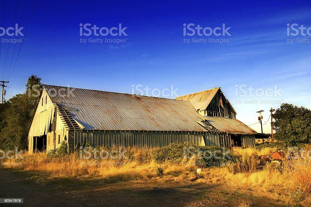 Barn colors royalty-free stock photo