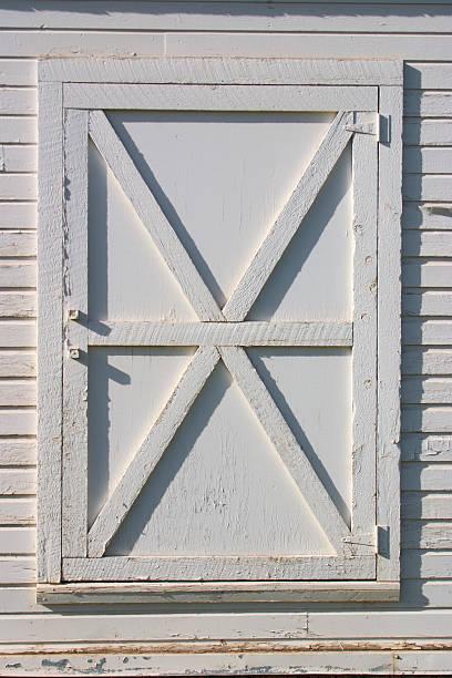 Barn door stock photo