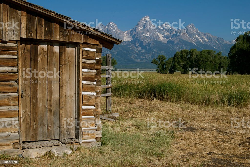 Barn Door royalty-free stock photo