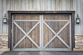 Barn garage doors