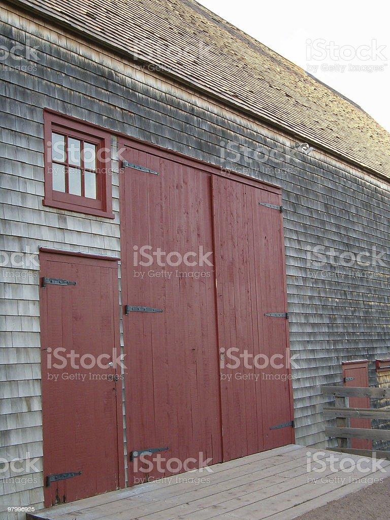 Barn Doors royalty free stockfoto