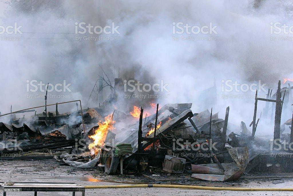 Scheune-explosion – Foto