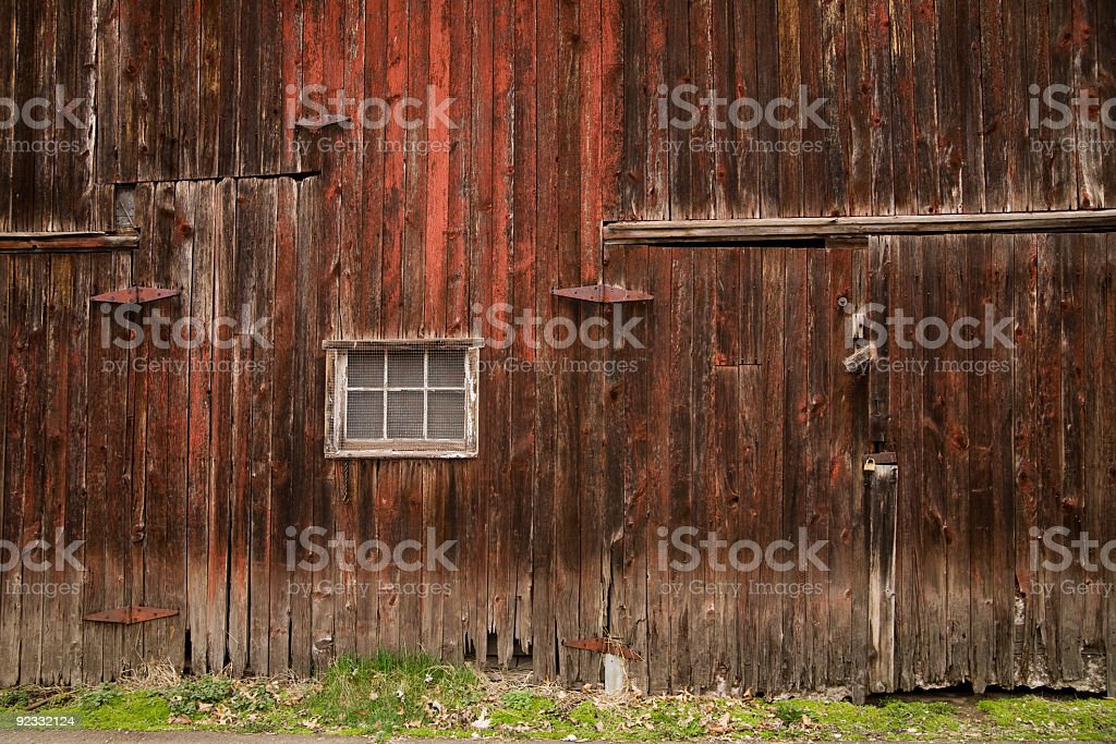 barn exterior stock photo