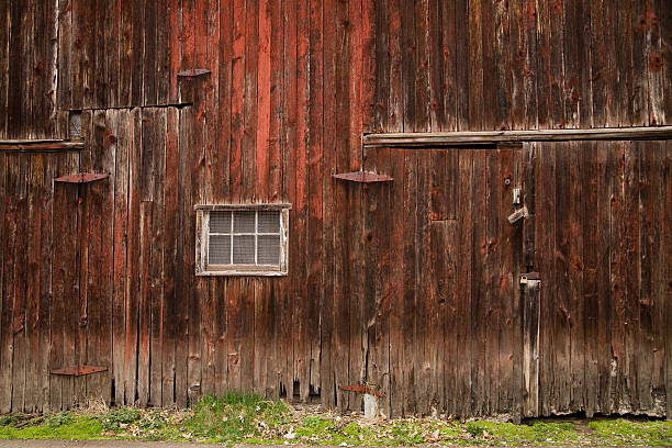barn exterior stock photo