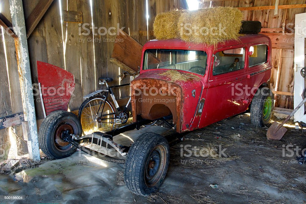 Barn Find Royalty Free Stock Photo