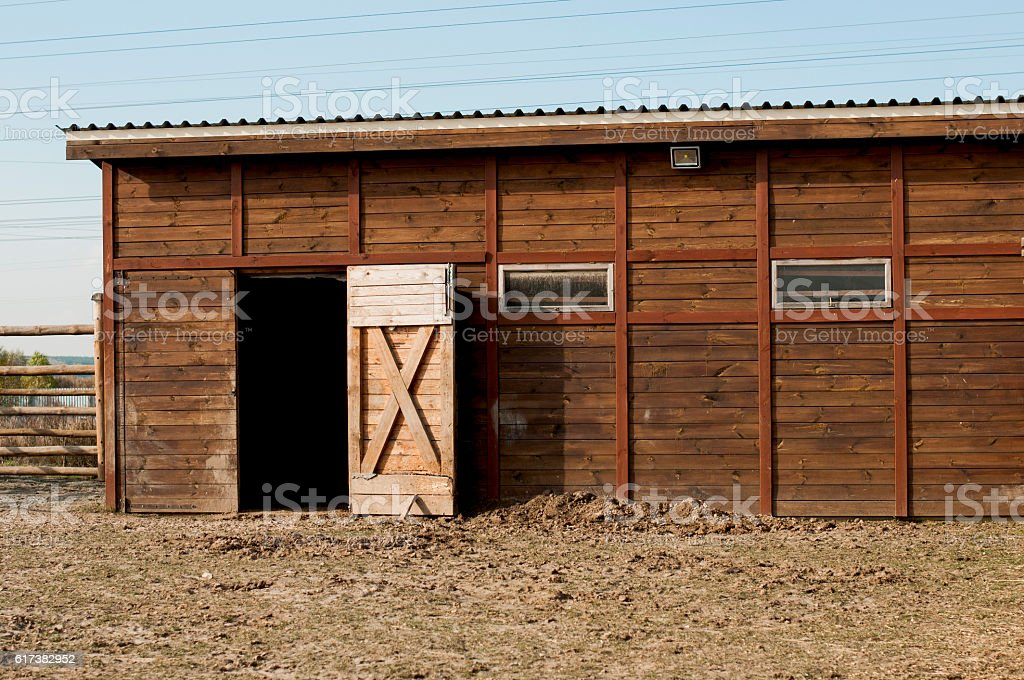 barn for cattle stock photo