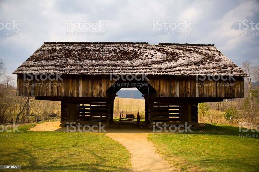 Barn stock photo