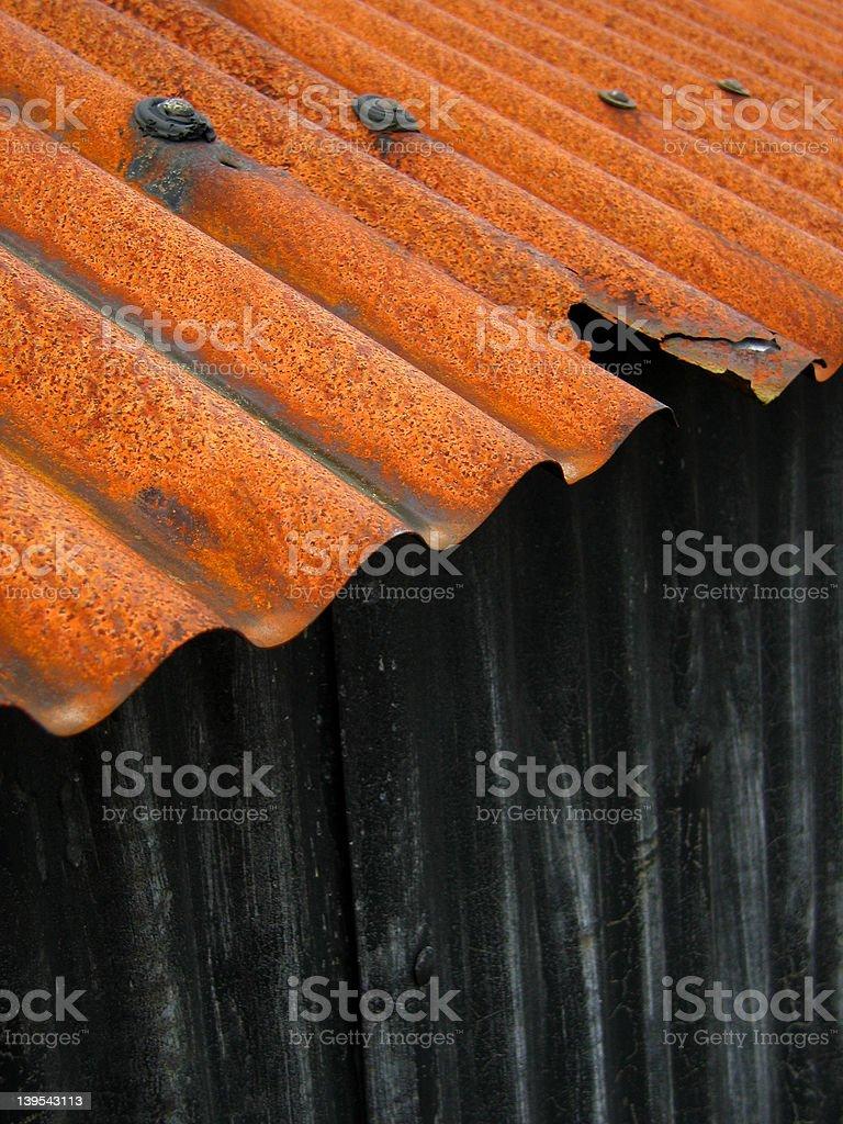 Barn roof 6 royalty-free stock photo