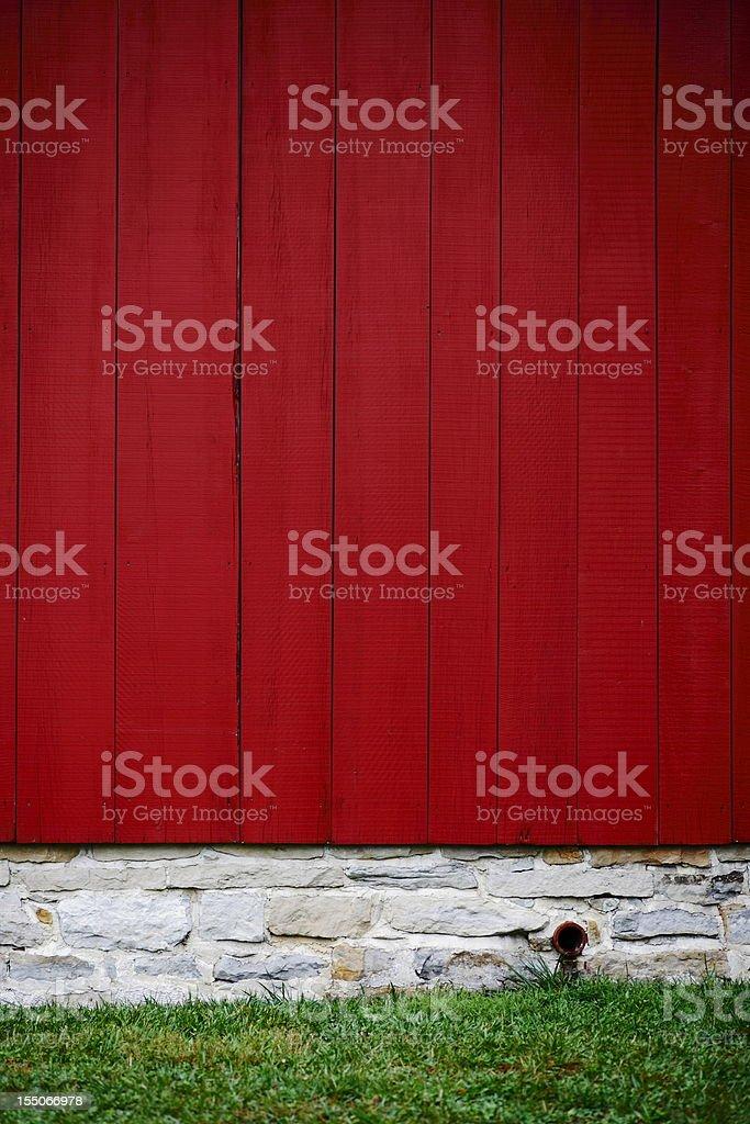 Barn Side royalty-free stock photo
