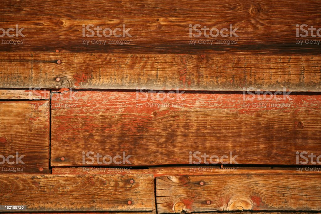 Barn Wall Planks - Background royalty-free stock photo