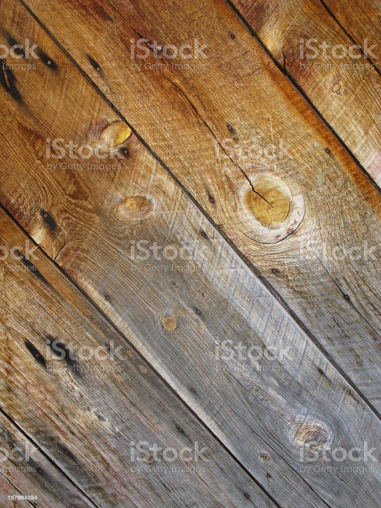 Barn Wood Siding royalty-free stock photo
