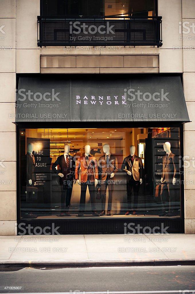 Barneys New York royalty-free stock photo