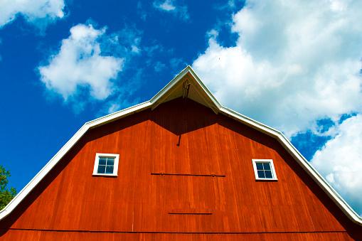 Barn-Red Barn-Howard County Indiana