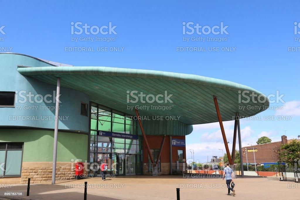 Barnsley Interchange stock photo