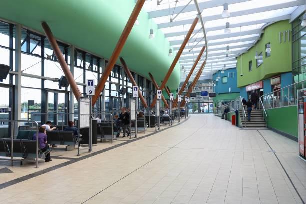 Barnsley Station stock photo