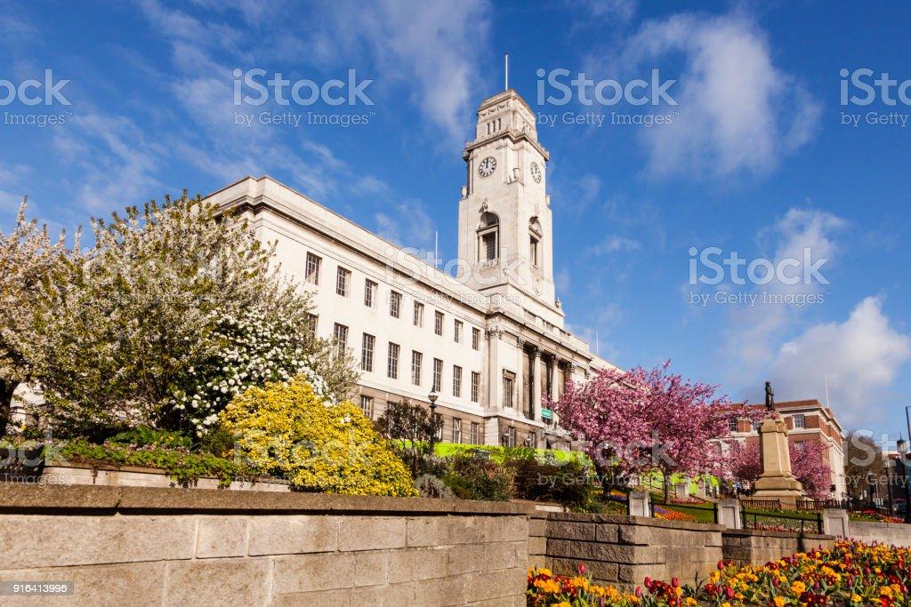 Barnsley Town Hall stock photo