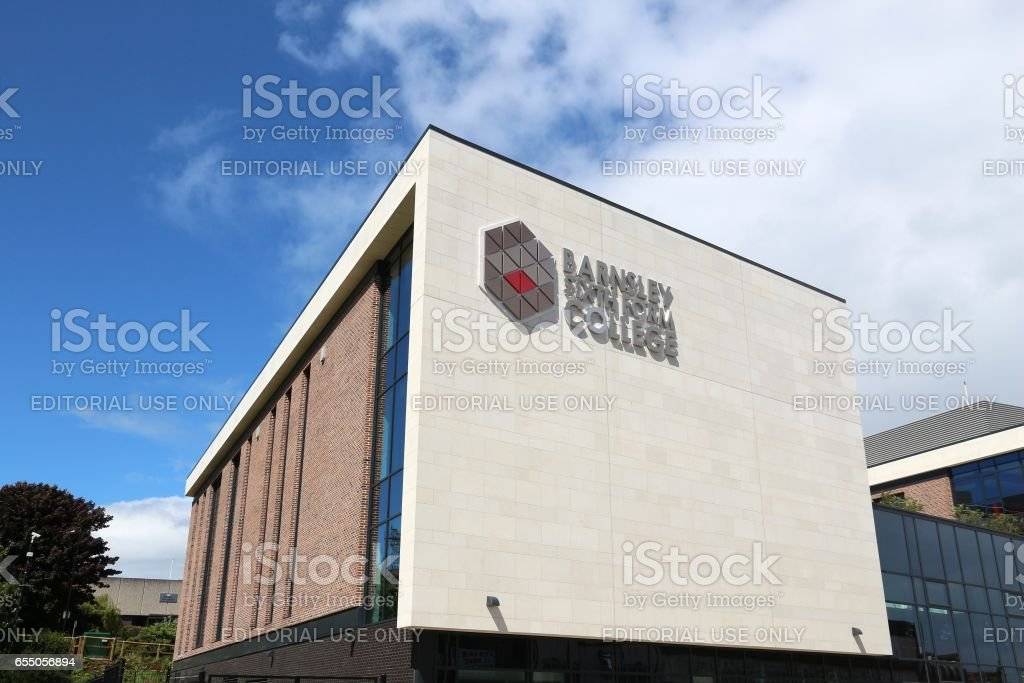 Barnsley UK stock photo