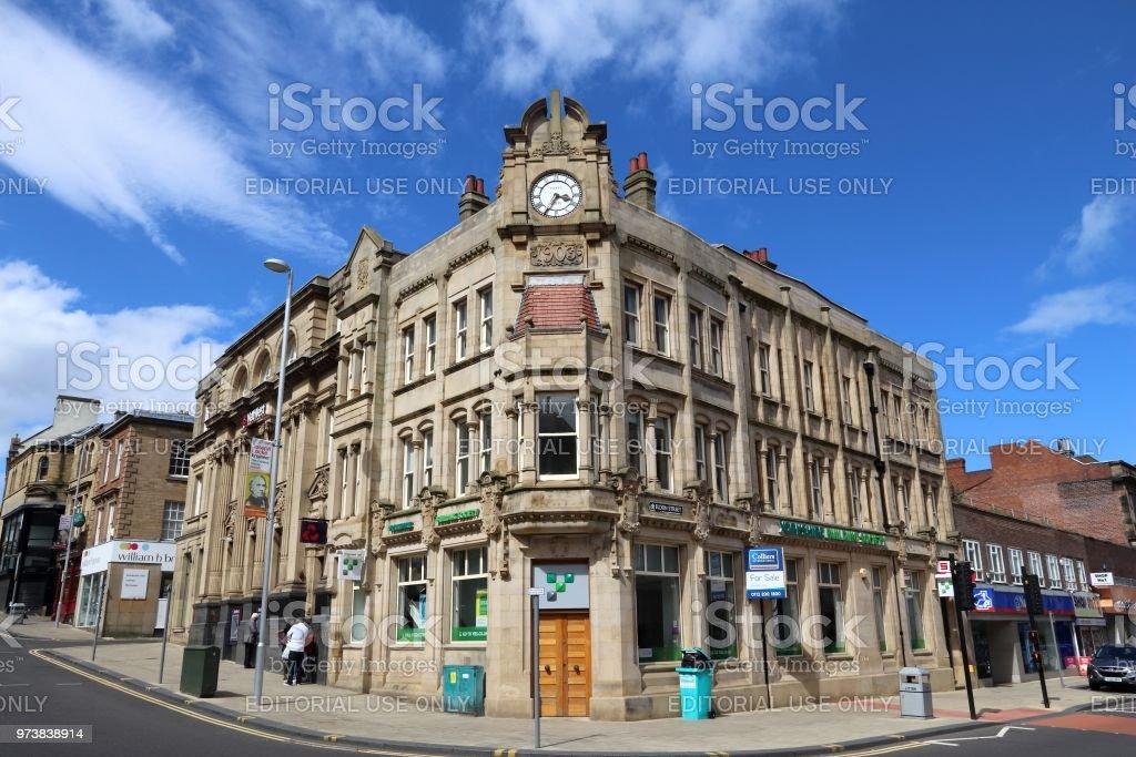 Barnsley UK stock photo