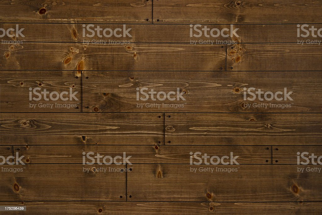 Barnwood plank flooring/full-frame/copy space stock photo
