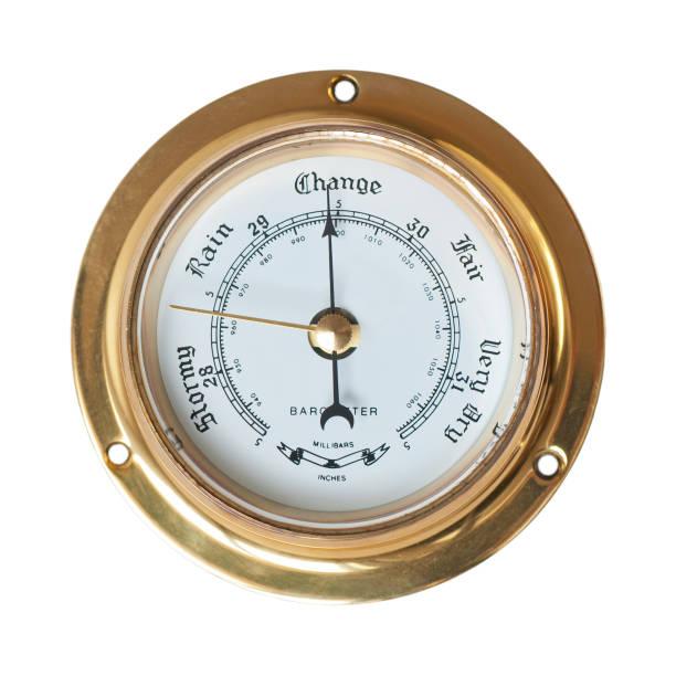 barometer - change in weather - barometer bildbanksfoton och bilder