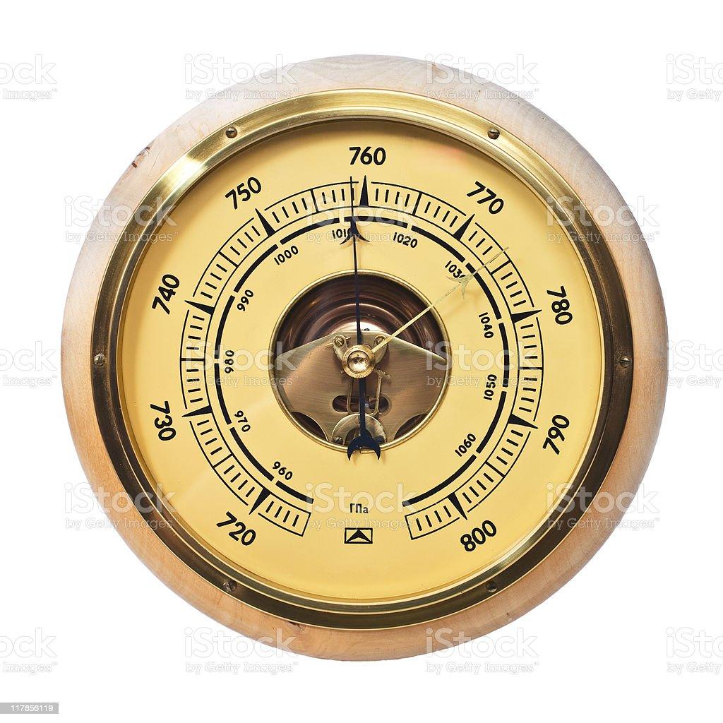 Barometer. royalty-free stock photo
