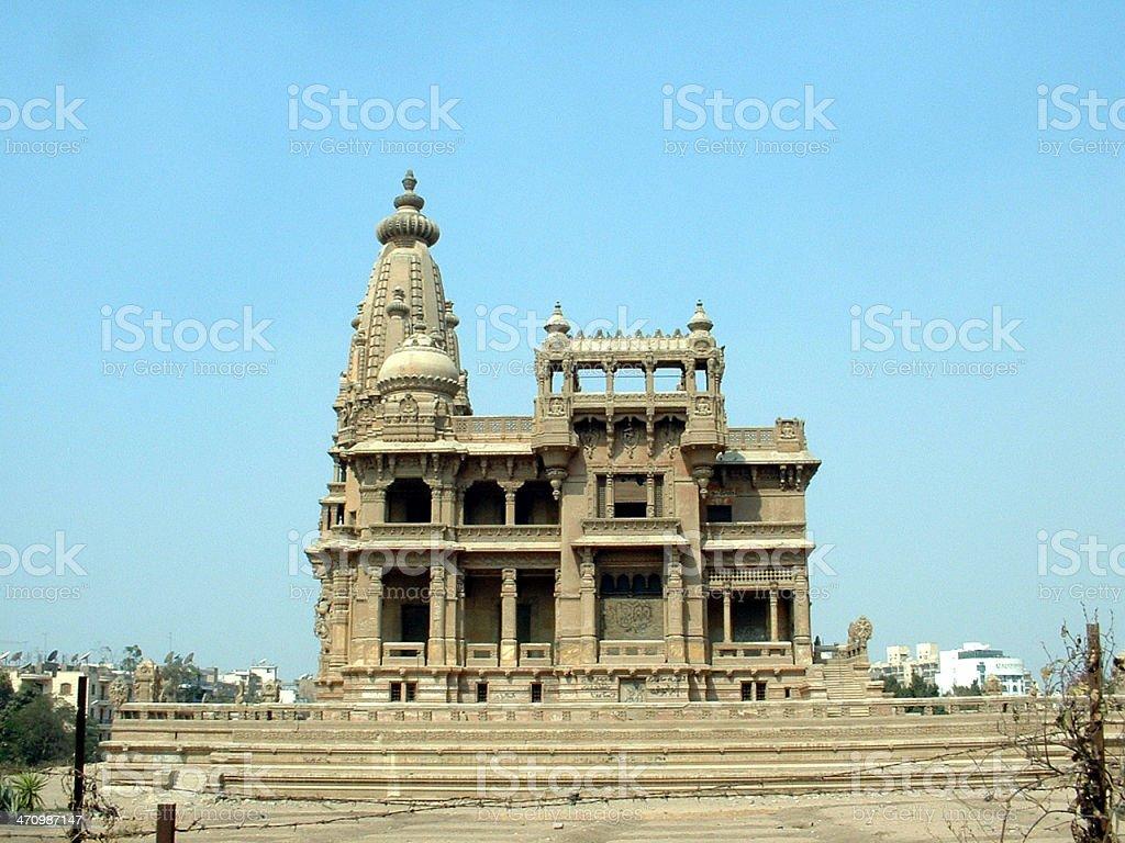 Baron Palace royalty-free stock photo