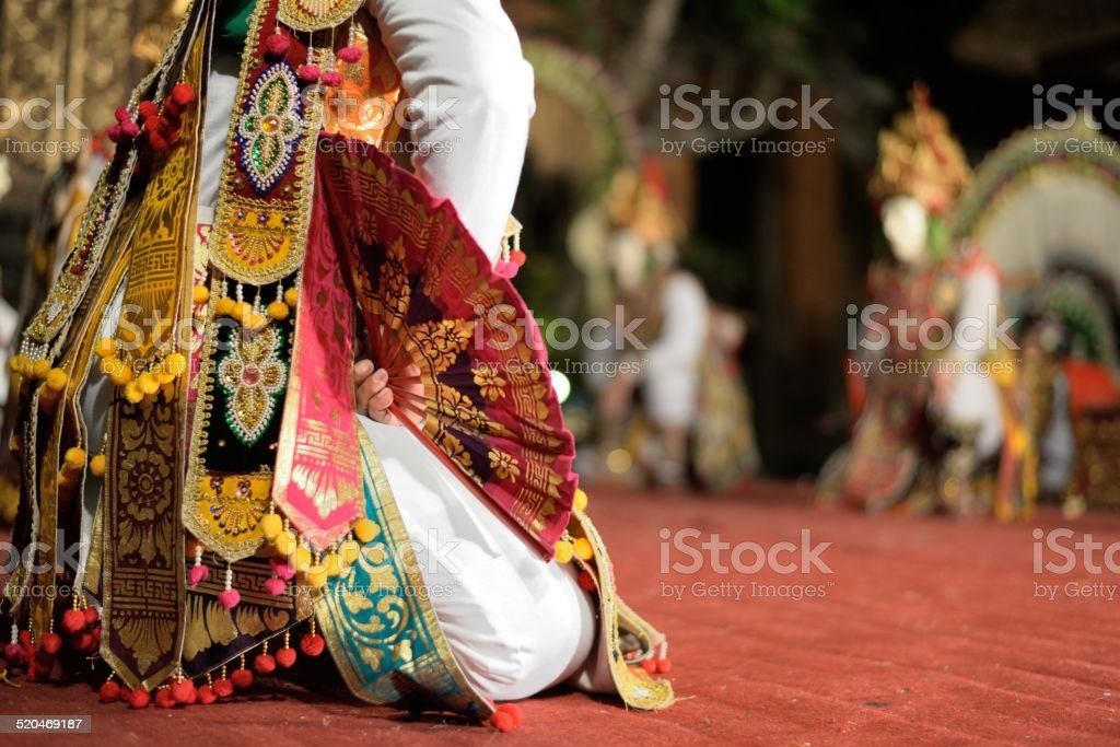 Barong Dance stock photo