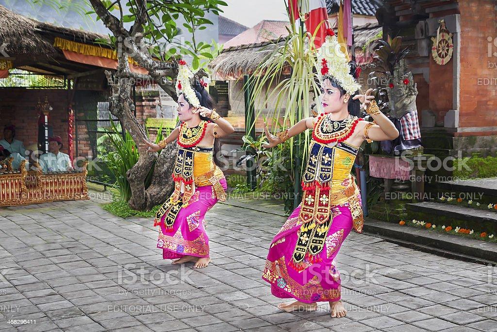 Barong Dance show royalty-free stock photo