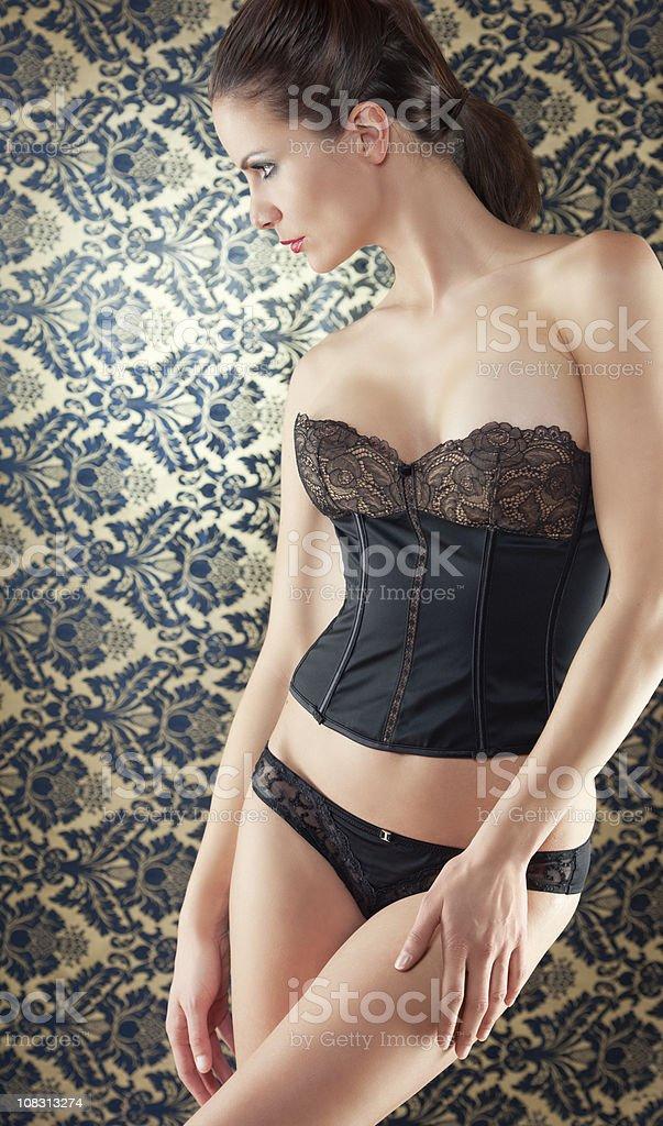 Baroque Beauty (XXXL) royalty-free stock photo