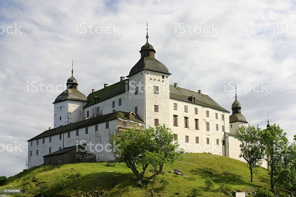 Baroque Castle royalty-free stock photo