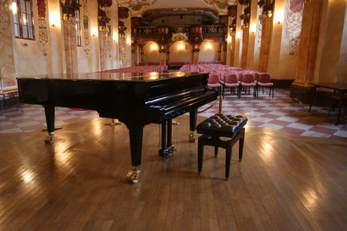 Baroque concert hall