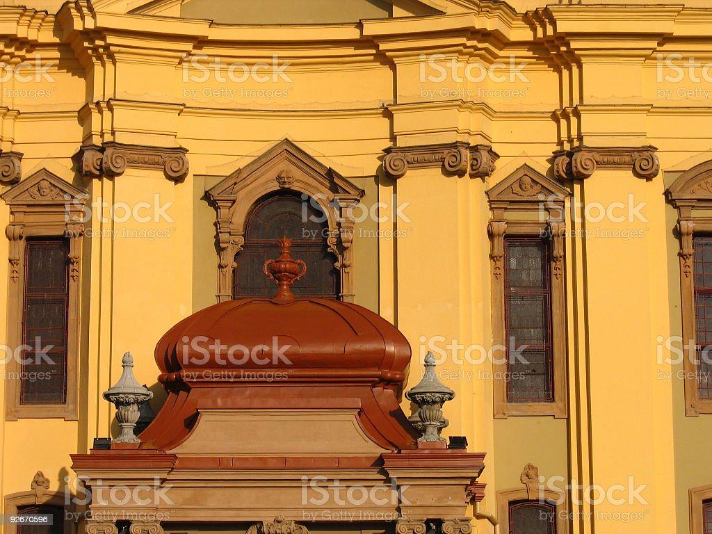 Baroque Detail royalty-free stock photo