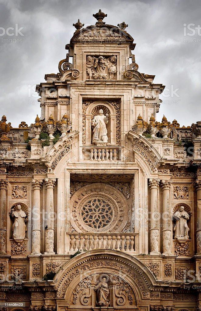 Baroque Facade royalty-free stock photo
