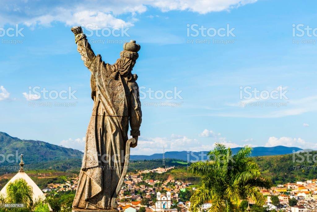 Santuário barroco de Bom Jesus Matosinhos - foto de acervo