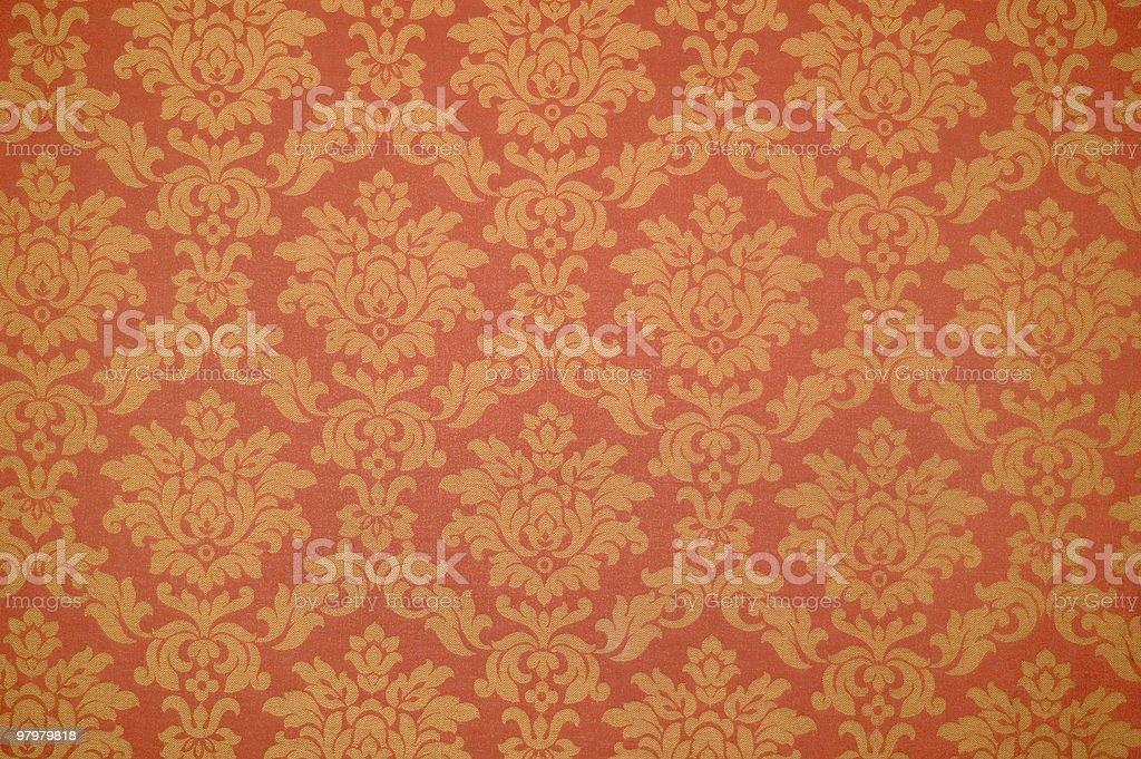 baroque venetian wallpaper royalty-free stock photo