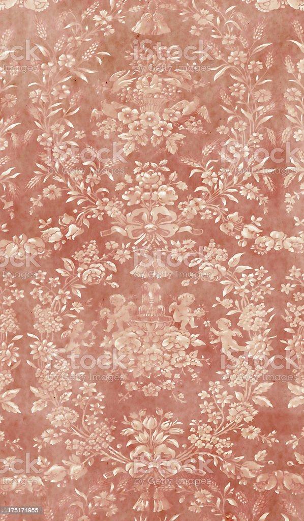 Style Baroque Papier Peint Rouge Photos Et Plus D Images De Art Et