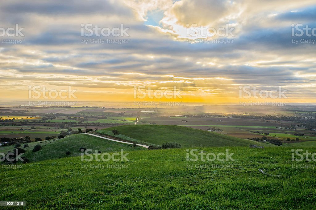 Barossa Valley Of South Australia stock photo