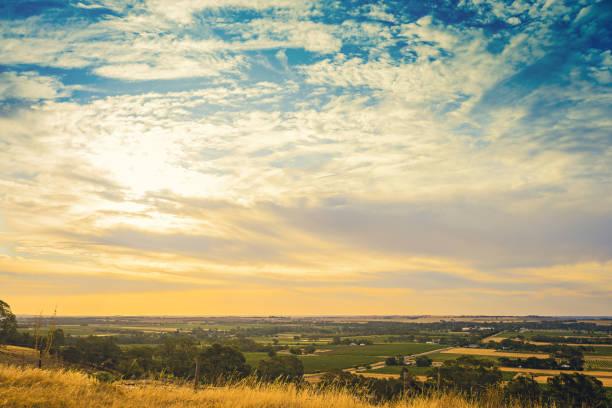 Barossa valley, South Australia stock photo
