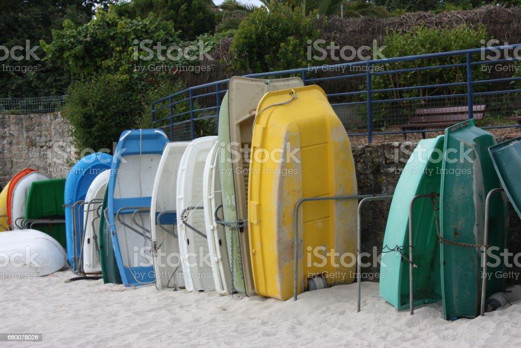 Bateau de barque annexe de - navigation de plaisance - Marée - Photo