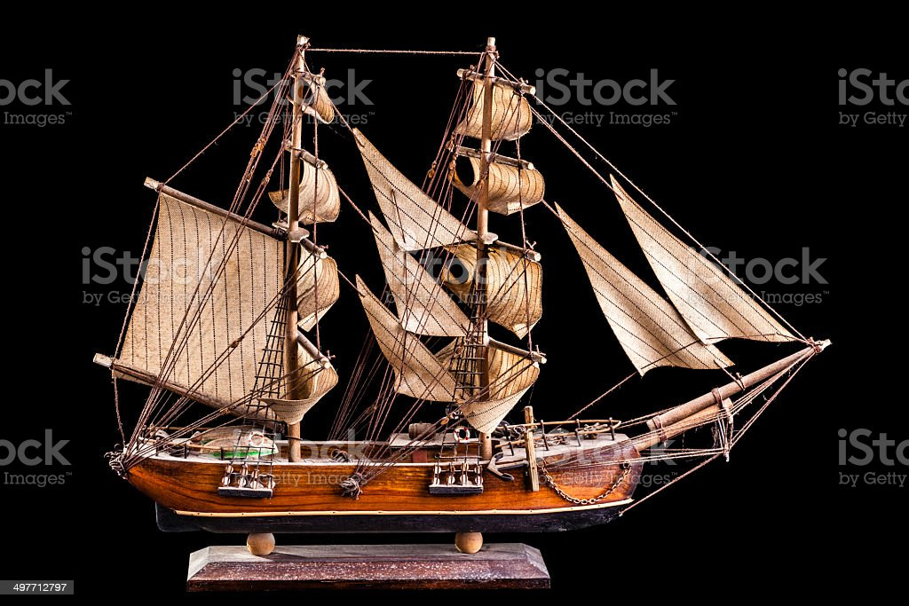 Barque stock photo