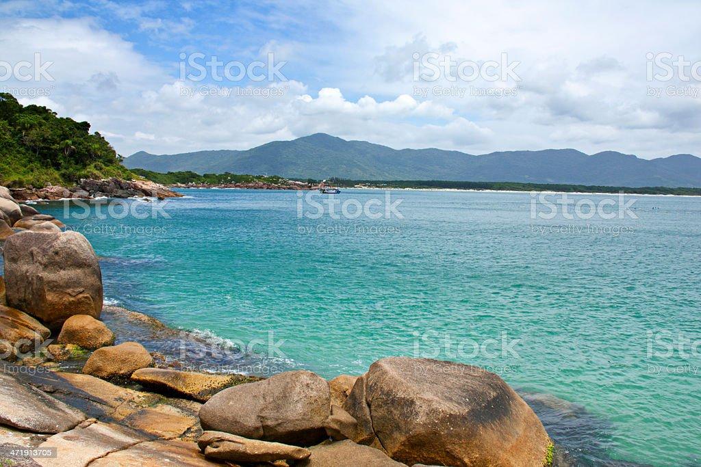 Barra da Lagoa - Florianopolis stock photo
