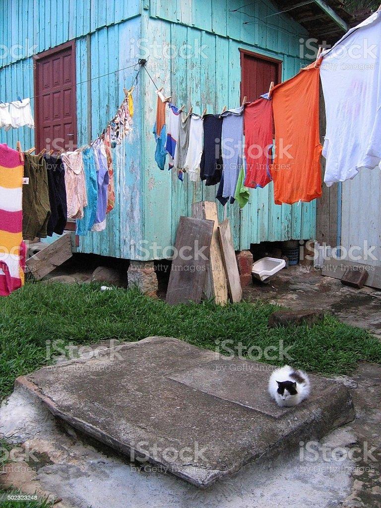 Barra Da lagoa, Florianopolis stock photo