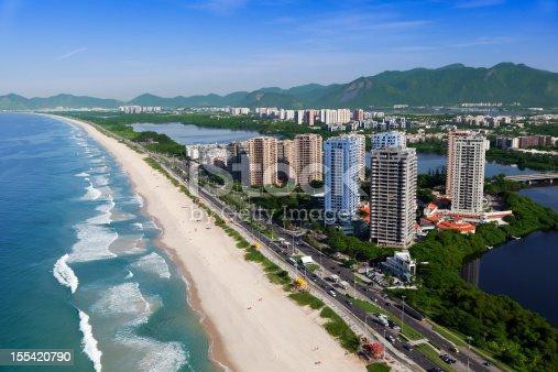 istock Barra da Tijuca Beach in Rio de Janeiro 155420790