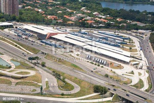 istock Barra da Tijuca BRT aerial view, Rio de Janeiro. Brazil 951698512