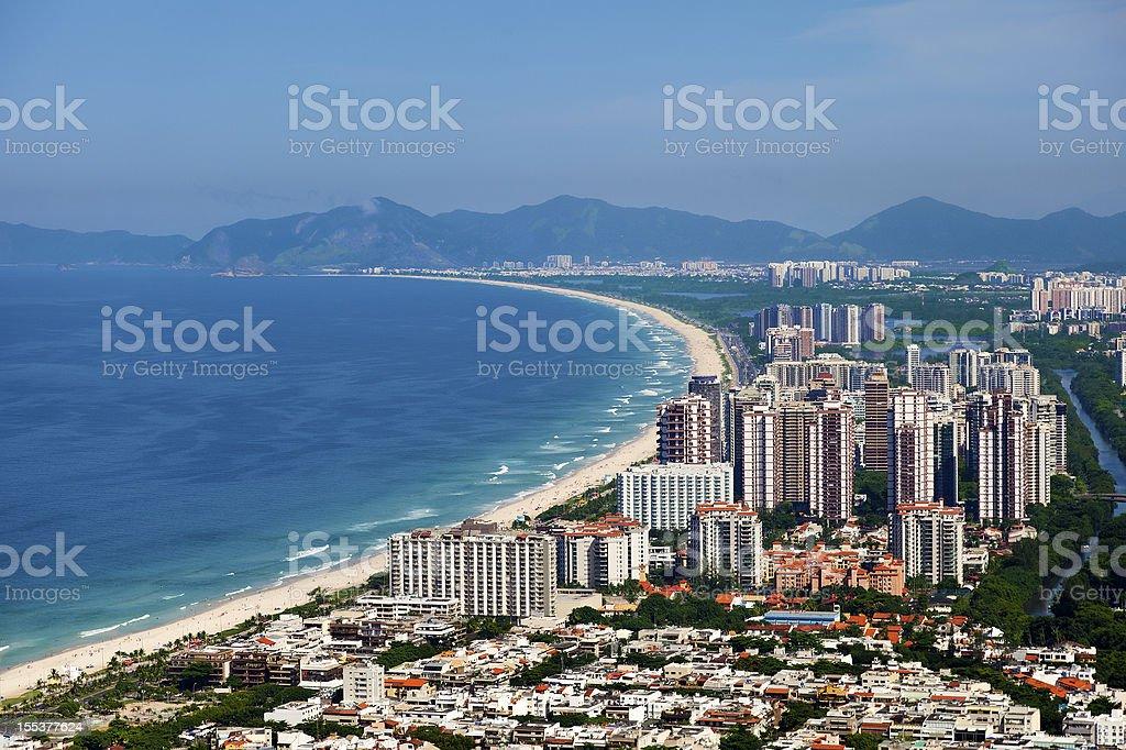Stadtteil Barra Da Tijuca In Rio De Janeiro Stock Fotografie Und