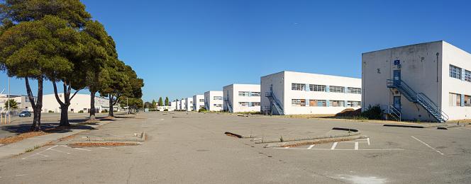 Barracks Alameda Naval Air Station Ca Stock Photo - Download Image Now
