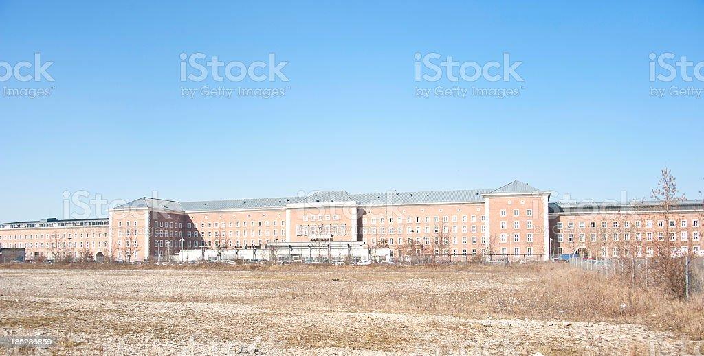 barracks - Kaserne stock photo