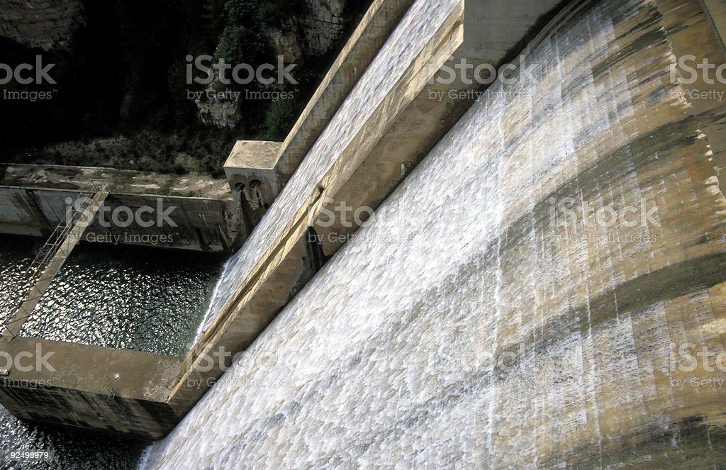 Barrage Lizenzfreies stock-foto